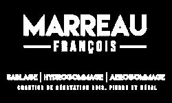 Logo Marreau Francois - blanc